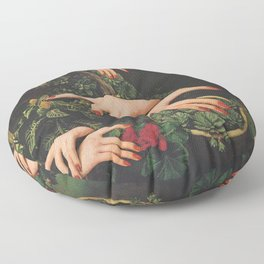 Touch Plants Floor Pillow