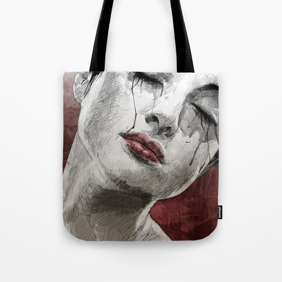 Venom and Tears Tote Bag