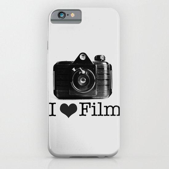 I ♥ Film (Grey/Black) iPhone & iPod Case
