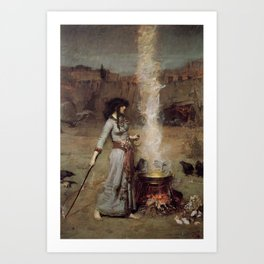 The Magic Circle, John William Waterhouse. Art Print