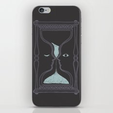 blink and you'll miss it iPhone & iPod Skin