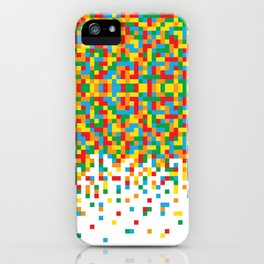 Pixel Chaos iPhone Case