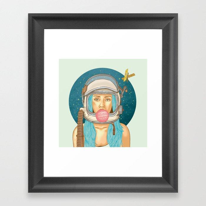Bubblerella Framed Art Print