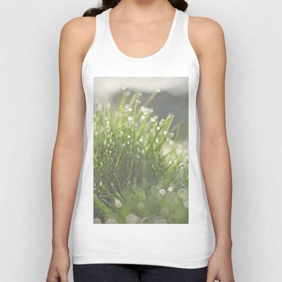 Grass Unisex Tank Top