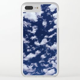 Little Fluffy Clouds Clear iPhone Case