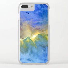 Any Colour You Like Clear iPhone Case