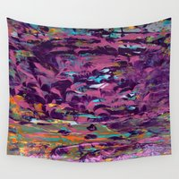 lotus flower Wall Tapestries featuring LOTUS by ....