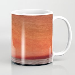 Lifeguard Sunset Coffee Mug