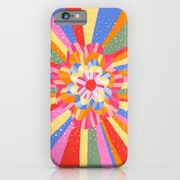 Hippie Flower iPhone Case