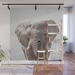 Elephant - Colorful Wall Mural