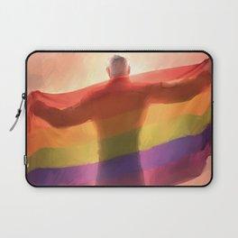 Shiro prise flag (no text) Laptop Sleeve