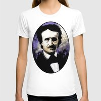 edgar allan poe T-shirts featuring Edgar Allan Poe by Rouble Rust