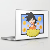 goku Laptop & iPad Skins featuring Goku by CmOrigins
