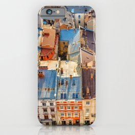 Old town roofs iPhone Case