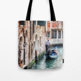 Gondolier, Venice, Italy Tote Bag
