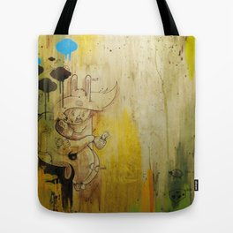 Hasenfusz / Rabbitfoot Tote Bag