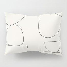 Minimal Abstract Shapes 03 Pillow Sham