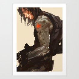 Bucky Cover Art Print