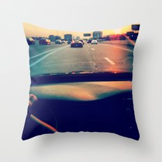 Sunset View Throw Pillow