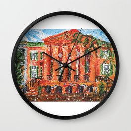 Cistern Charleston, SC Wall Clock