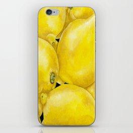 Fresh Lemons iPhone Skin