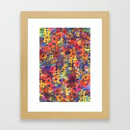 Late Summer Garden Framed Art Print