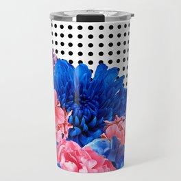 Posy For Dee BluePink Travel Mug