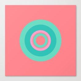 Circle love Canvas Print