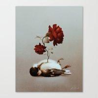 soul Canvas Prints featuring Soul by Bente Schlick