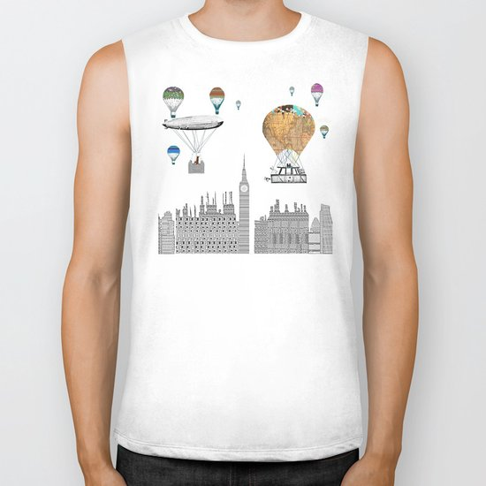 adventure days london  Biker Tank