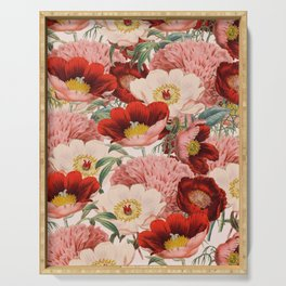 Vintage Garden #society6 Serving Tray