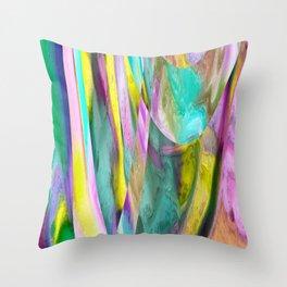 179 - Colour abstract design Throw Pillow
