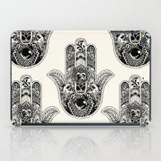 Hamsa Hand Pug iPad Case