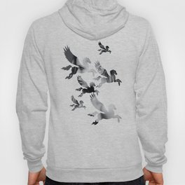Facing Pegasus Hoody
