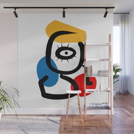 Hommage to Miro Wall Mural