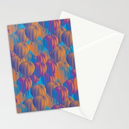 sunset baloons Stationery Cards