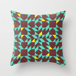 Squished Tropical Dressing #2 Throw Pillow