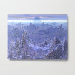 Islandia Evermore Metal Print