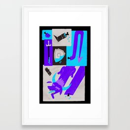 Medieval Monster Framed Art Print