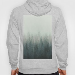 Into The Misty Nature - Turquoise Green Hoody