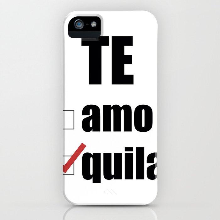 Te quila iPhone Case