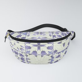 Flower Bell Azulejos Fanny Pack
