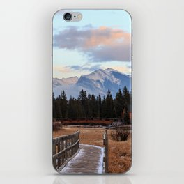 Sunset in the Canadian Rockies iPhone Skin