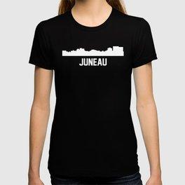 Juneau Alaska Skyline Cityscape T-shirt