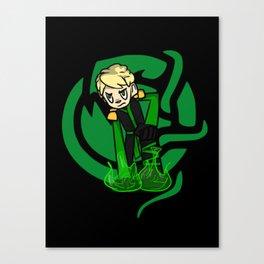 Green Lloyd Canvas Print