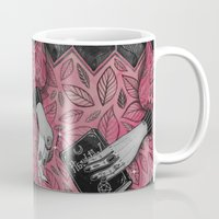 witchcraft Mugs featuring Witchcraft by lOll3