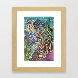 Abstractions in Nature 4 Framed Art Print