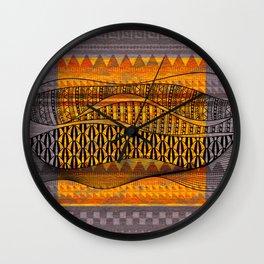 Strata Wall Clock