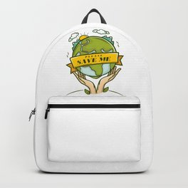 Save the Earth Backpack