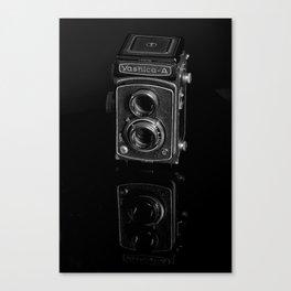 Medium Format Film Camera Canvas Print